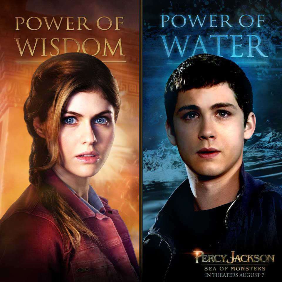 Percy Jackson Character poster 02