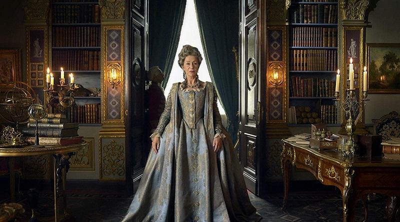 Helen Mirren jako Kateřina II. Veliká