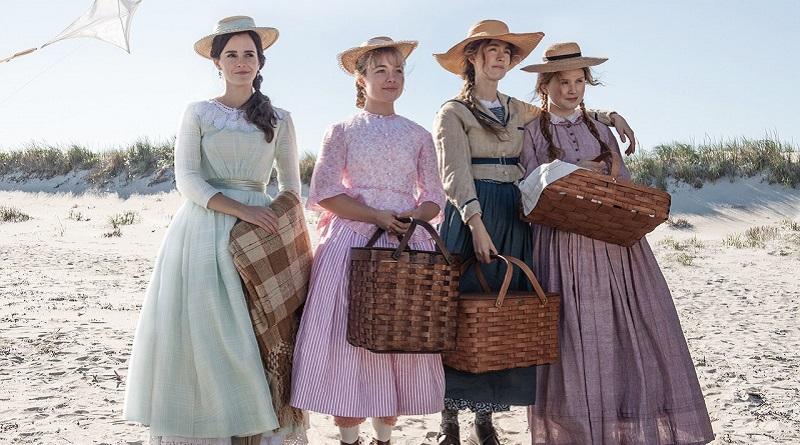 První fotky filmových Malých žen s Emmou Watson a Saoirse Ronan