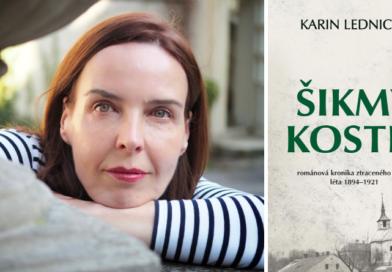 Karin Lednická vydává svůj první román