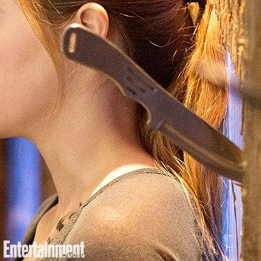 Divergent - vrhání nože 02