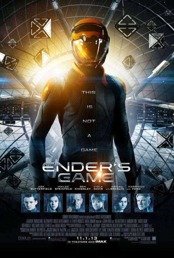 Ender's Games  poster