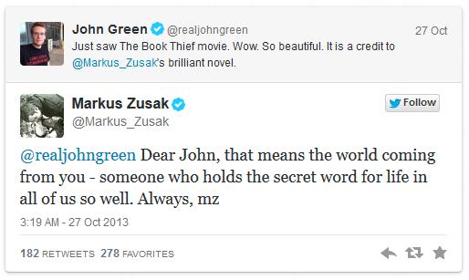 John Green & Markus Zusak