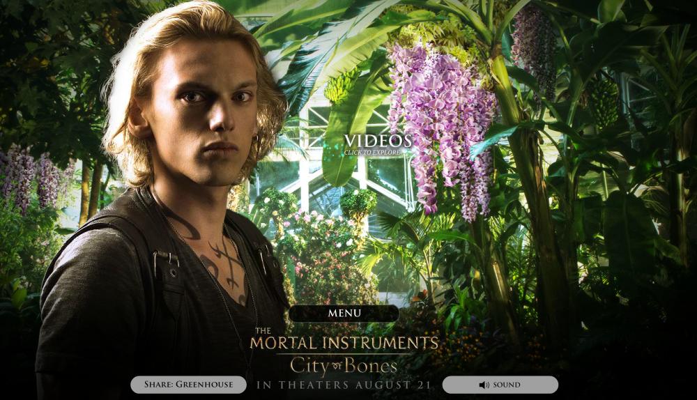 Mortal Instruments website 01